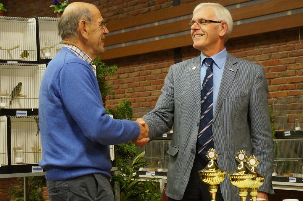 2013 - De heer B.M. Volbeda 40 jarig lidmaatschap.
