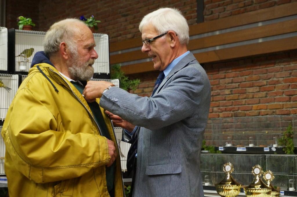2013 - De heer F. Vermaning 40 jarig lidmaatschap