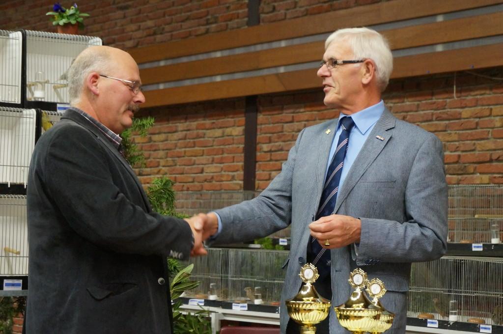 2013 - Simon Bles 25 jarig lidmaatschap.